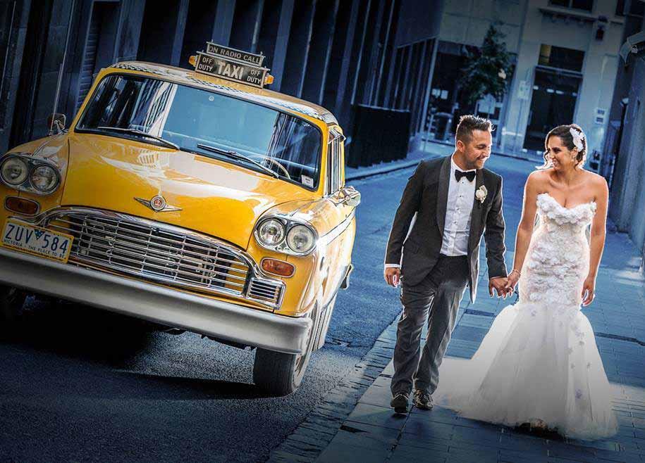 New York Taxi Wedding Car