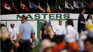 Photo of a crowd at the Australian Masters