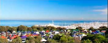 Photo of a panoramic view looking out over Port Phillip View