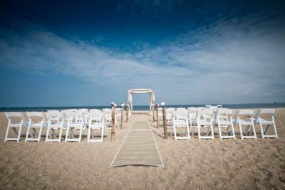 Brighton Beach Wedding Ceremony