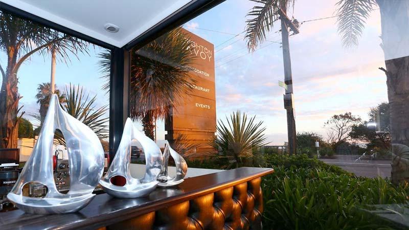 Brighton Savoy Seaview Terrace bar