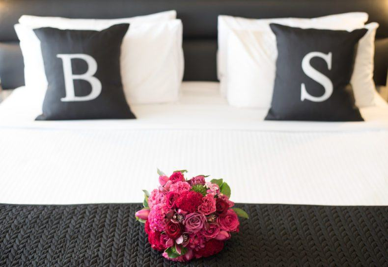 Spend the first night of your honeymoon in style