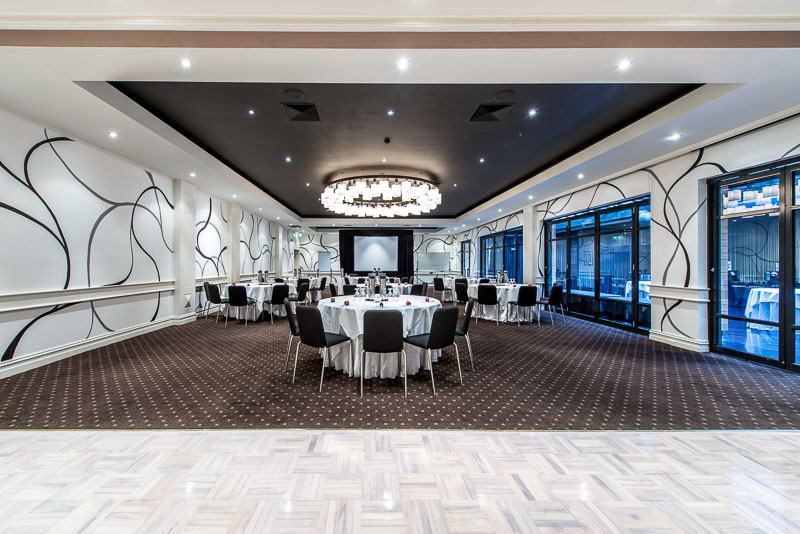 Our grand Gala Room ready for business