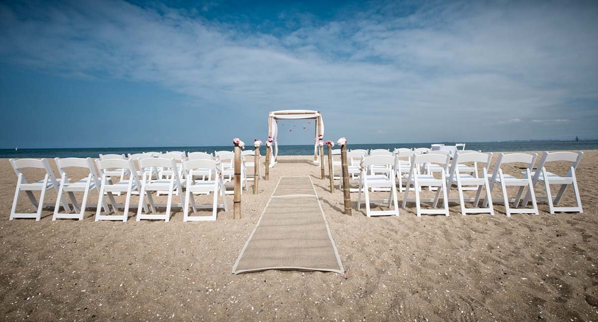 Wedding Styling Brighton Beach
