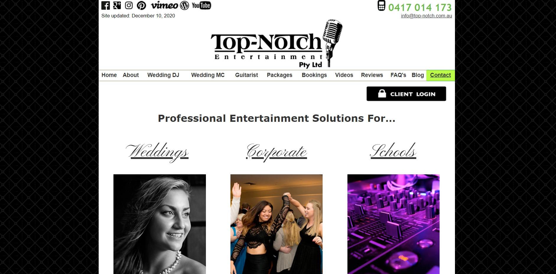Top Notch Entertainment Pty