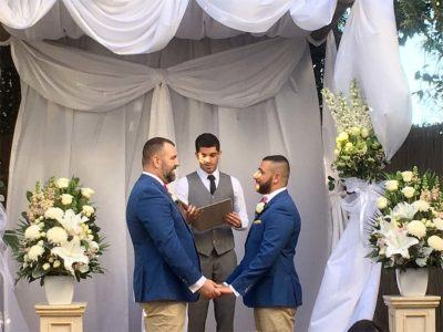 Kam & Paul Gay Wedding