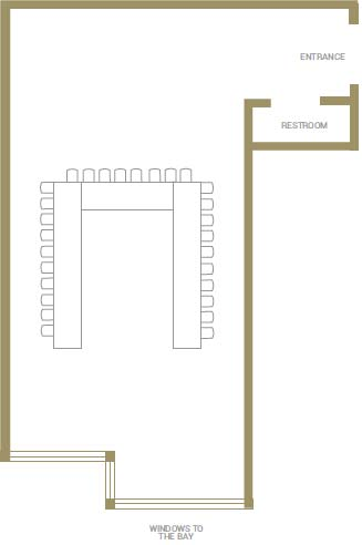 Port Phillip Conference Room Floorplans