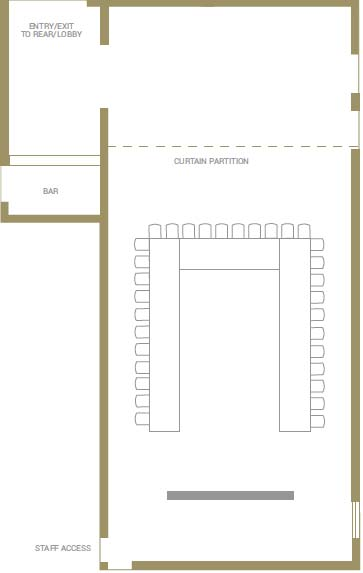 Wellington Room Floorplans