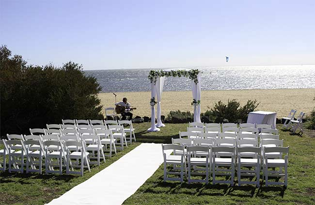 Beach Ceremony Back Up