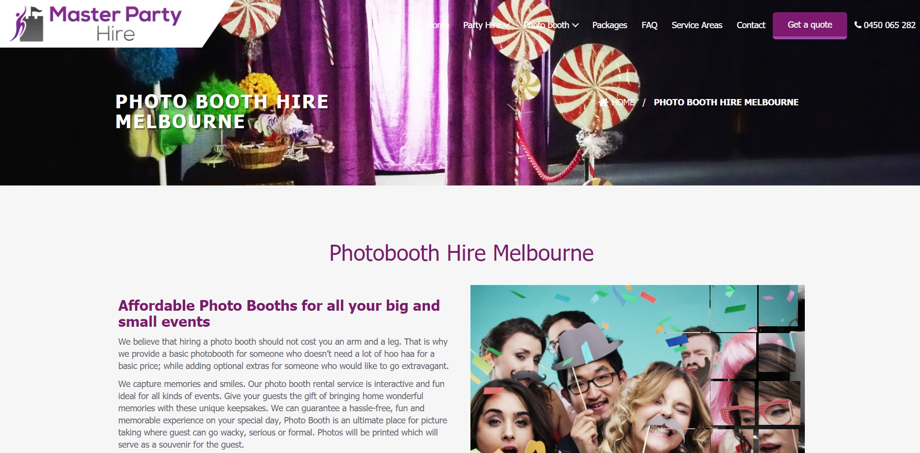 Master Party Hire