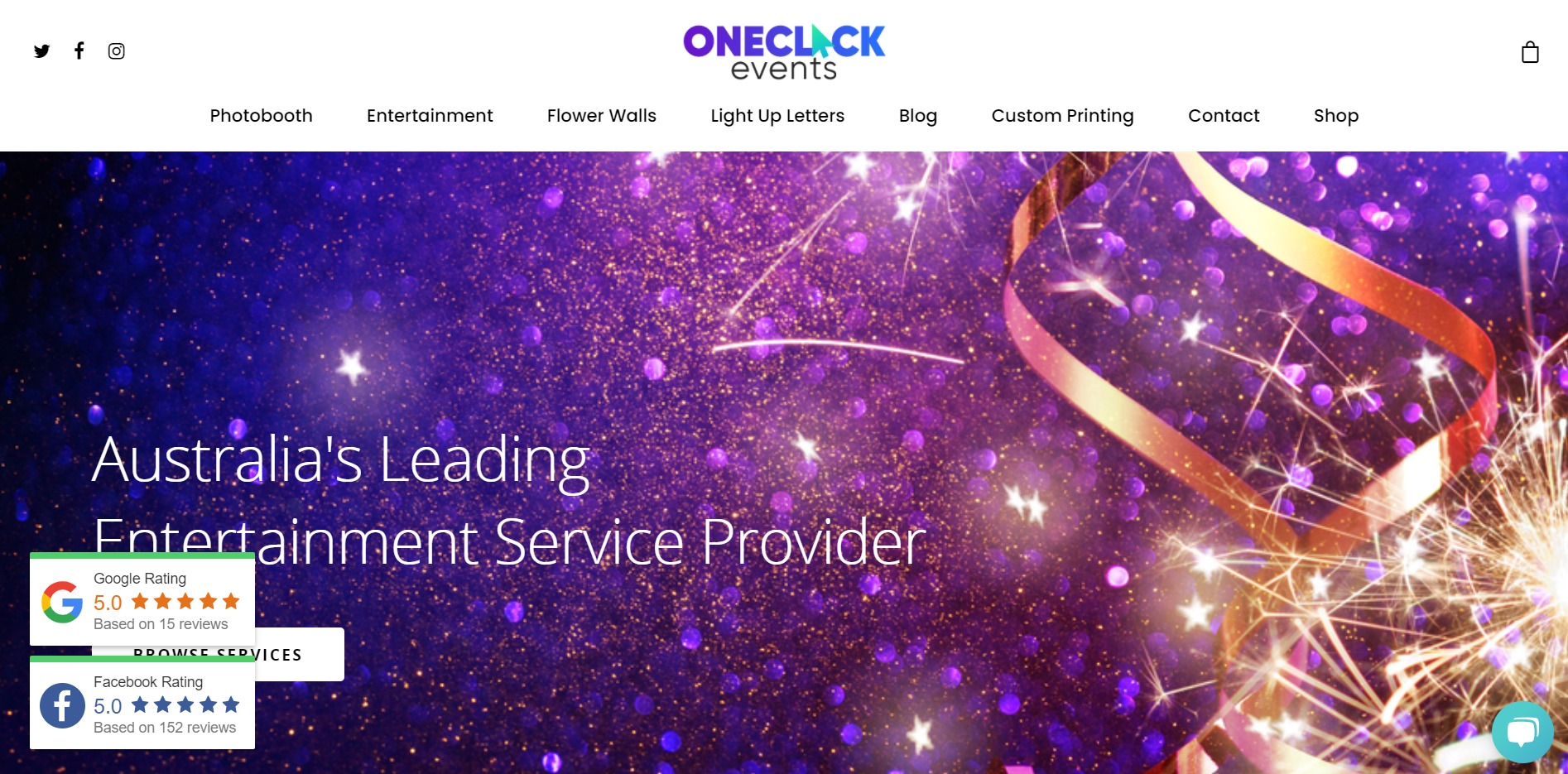 One Click Events