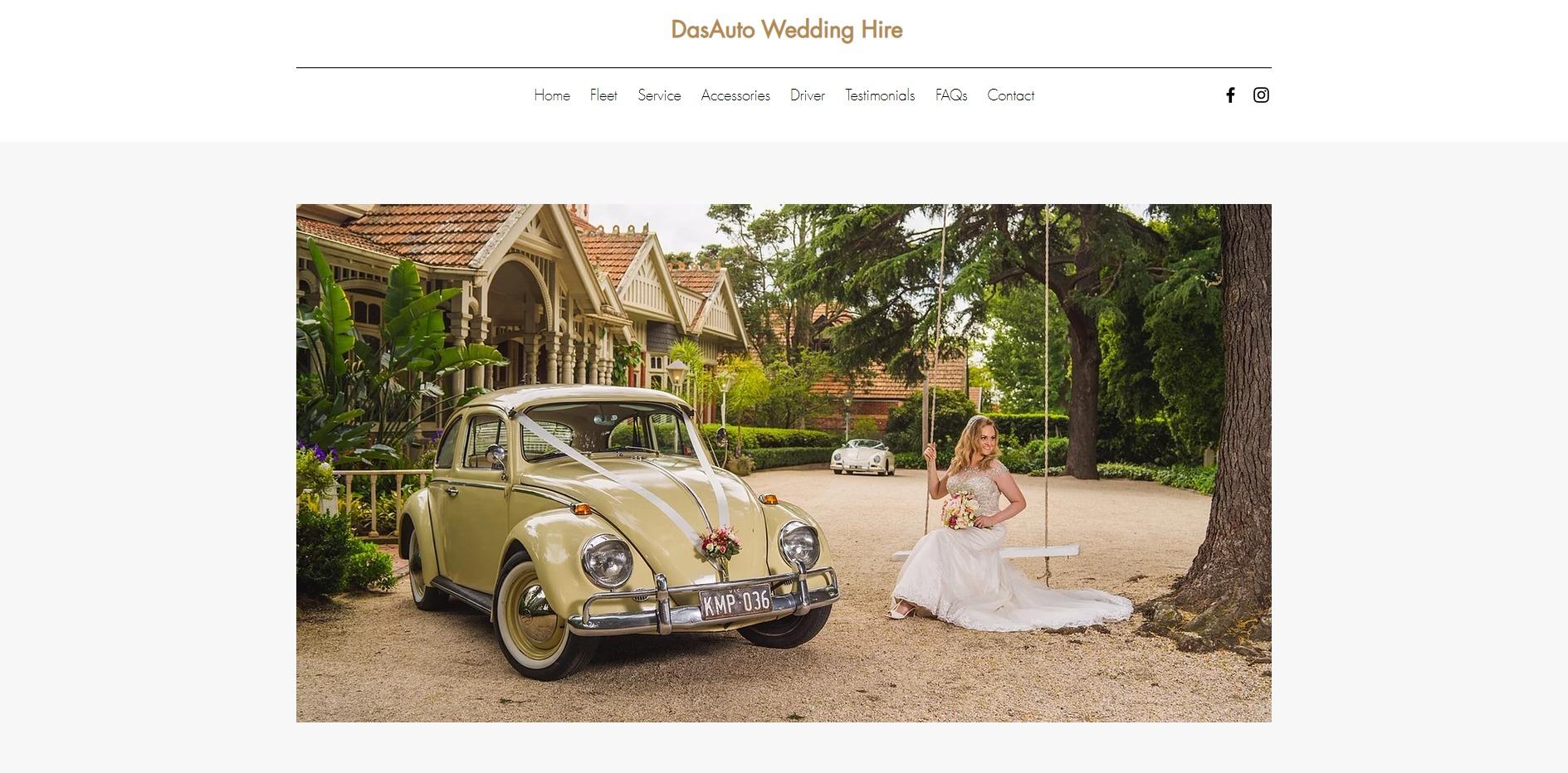 Dasauto Wedding Hire