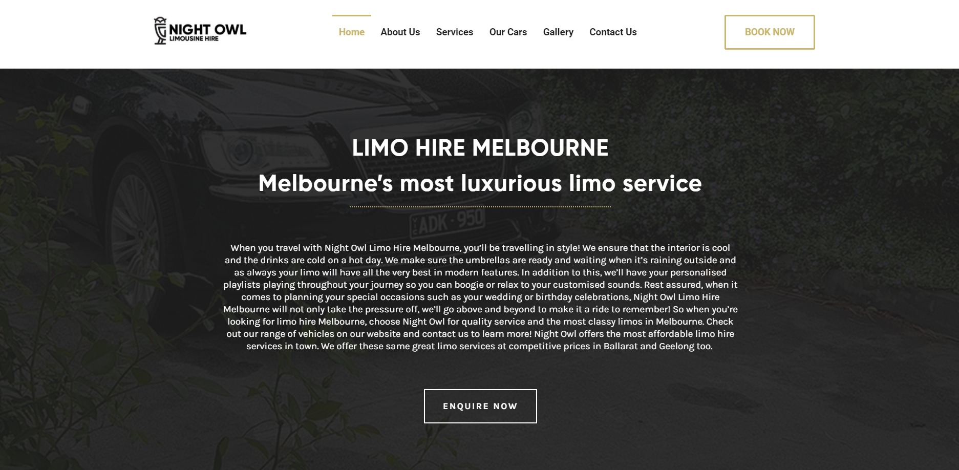Night Owl Hire Melbourne