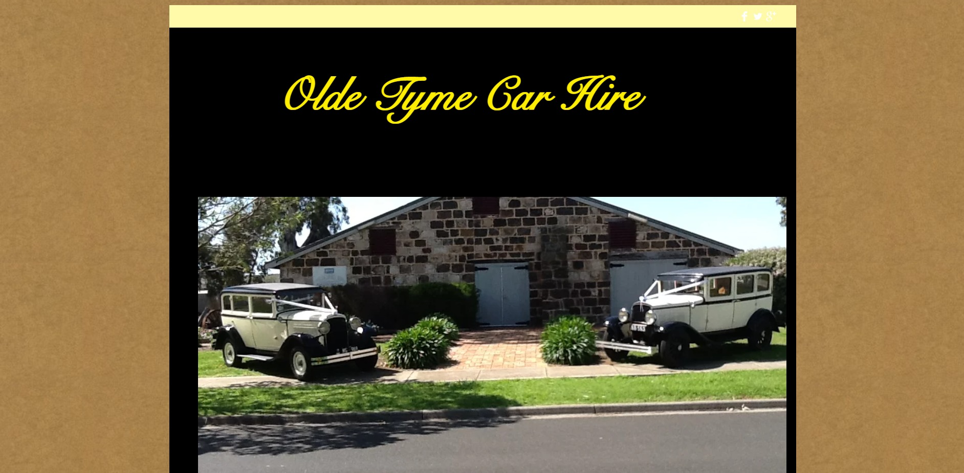 Olde Tyme Car Hire