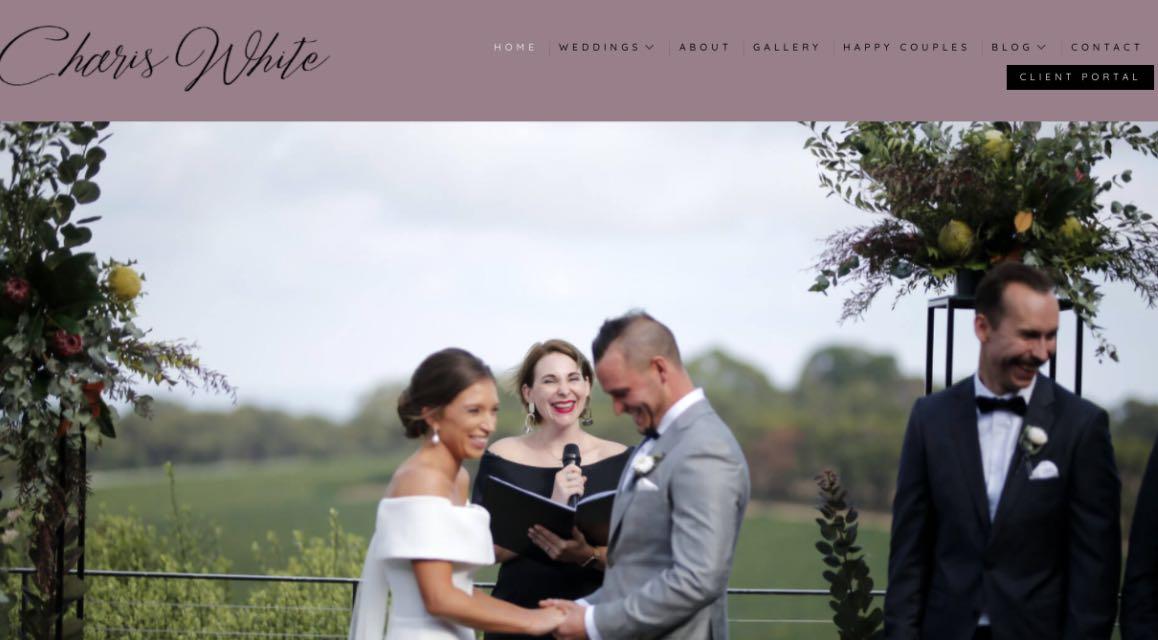 Charis White Wedding Celebrant Melbourne