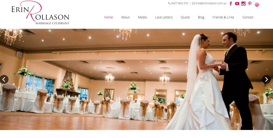 Erin Rollason Wedding Celebrant Melbourne