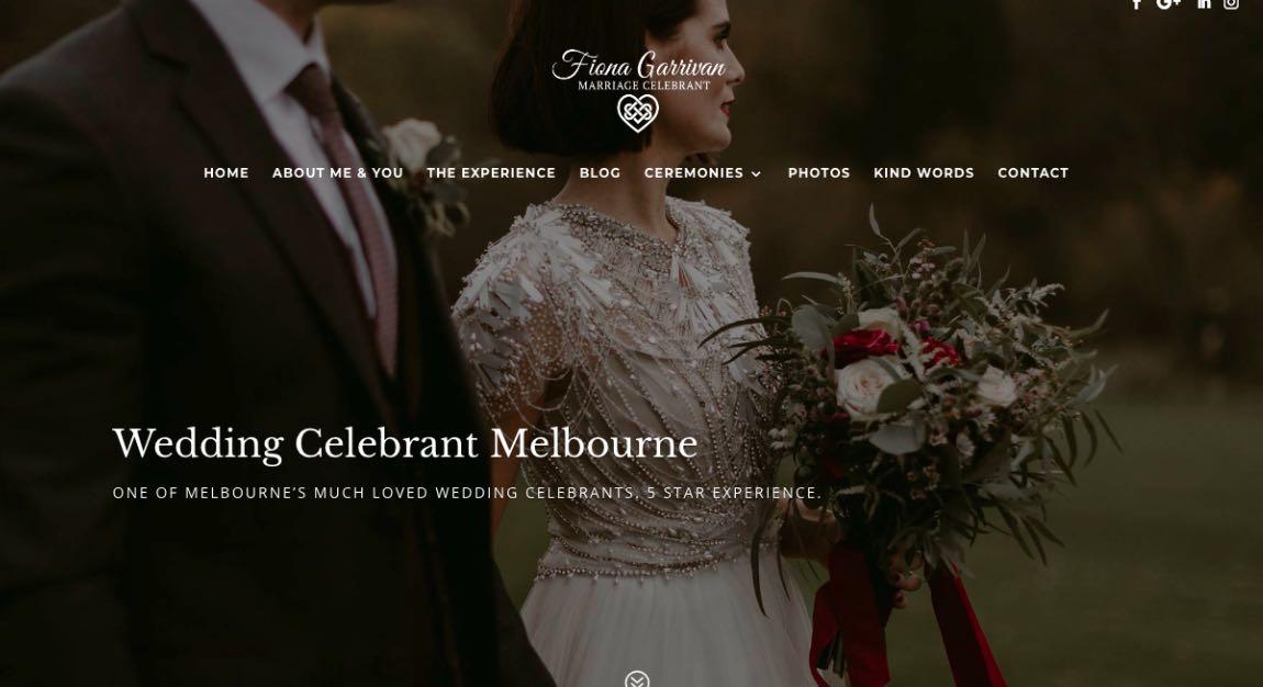 Fiona Garrivan Wedding Celebrant Melbourne