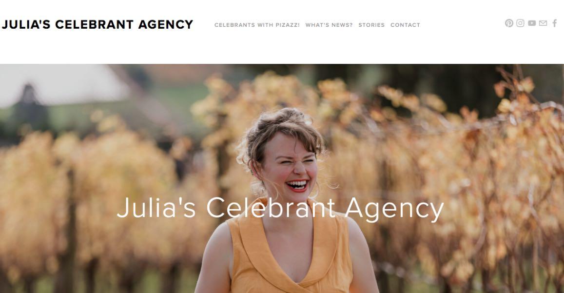 Julia's Celebrant Agency Wedding Celebrant Melbourne
