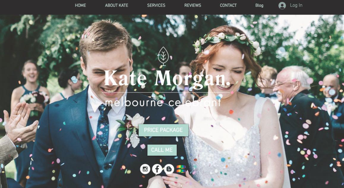 Kate Morgan Wedding Celebrant Melbourne