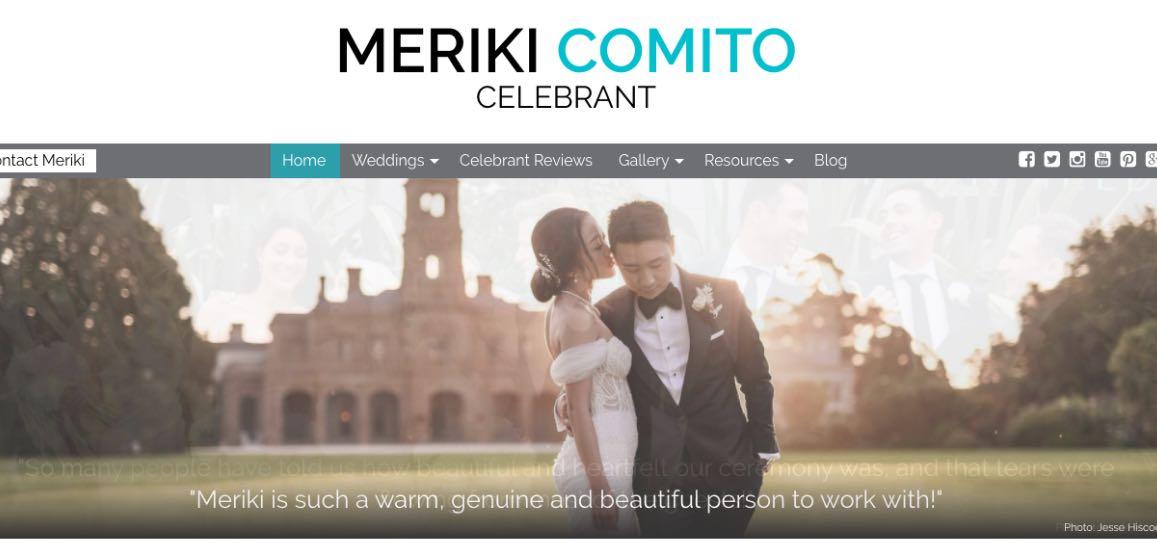 Meriki Comito Wedding Celebrant Melbourne