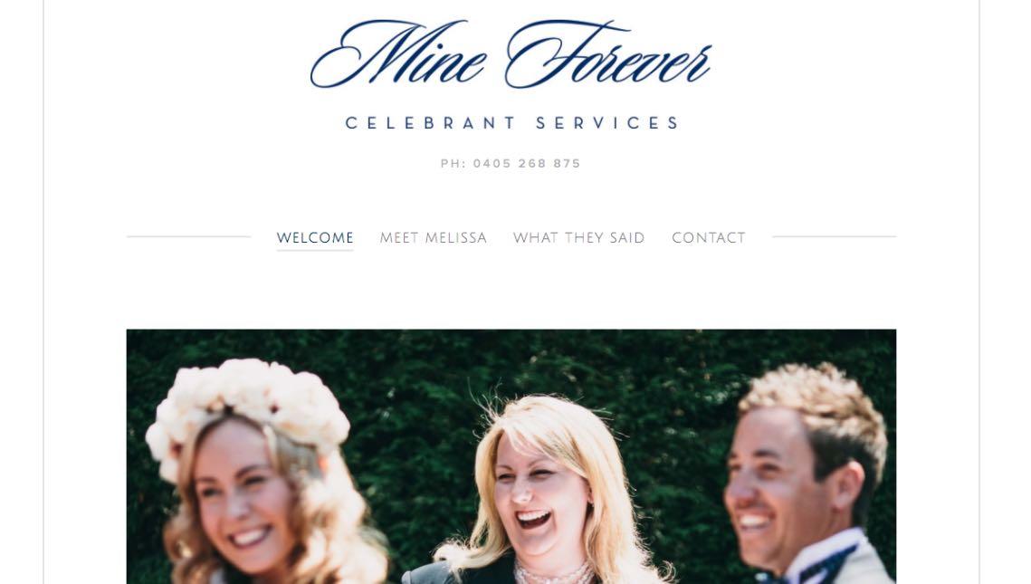 Mine Forever Wedding Celebrant Melbourne