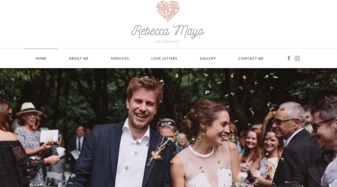 Rebecca Mayo Wedding Celebrant Melbourne
