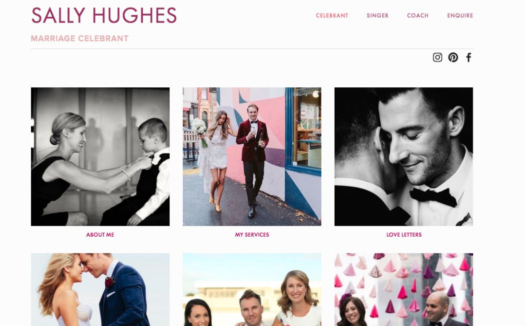 Sally Hughes Wedding Celebrant Melbourne