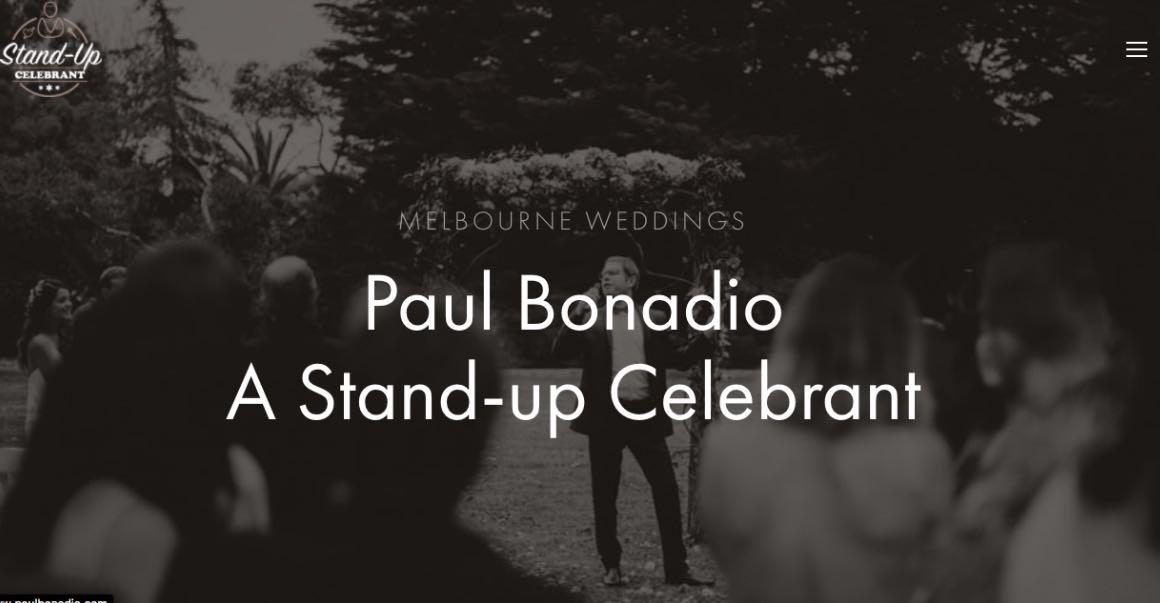 Stand Up Wedding Celebrant Melbourne