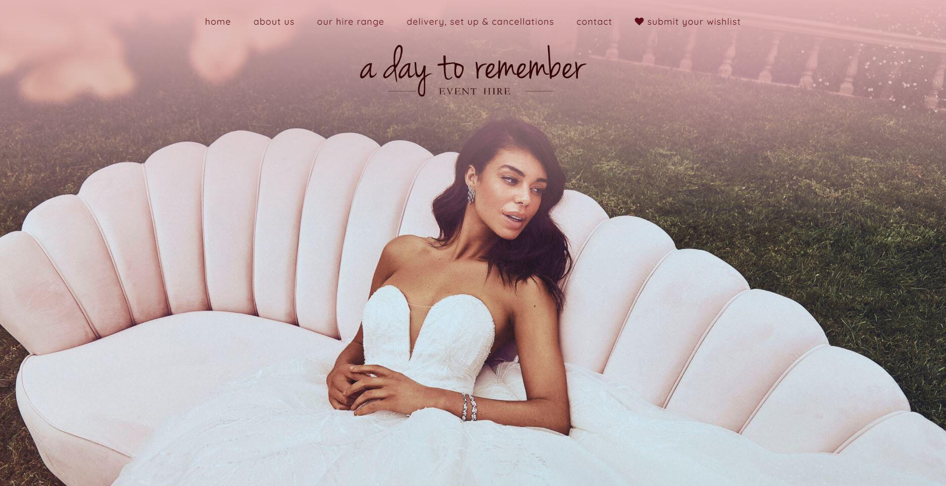 A Day To Remember Event Hire Wedding Melbourne
