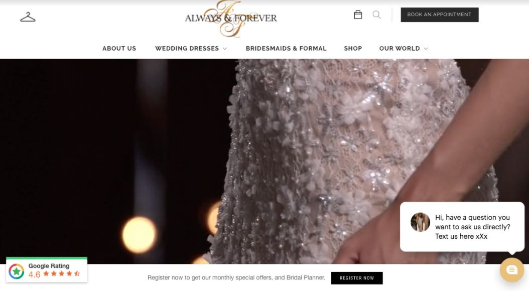 Always And Forever Wedding Dress Designer Shop Melbourne