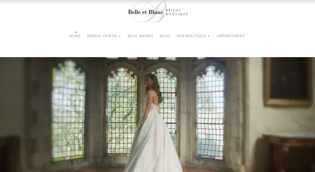 Belle Et Blanc Bridal Boutique Wedding Dress Designer Shop Melbourne