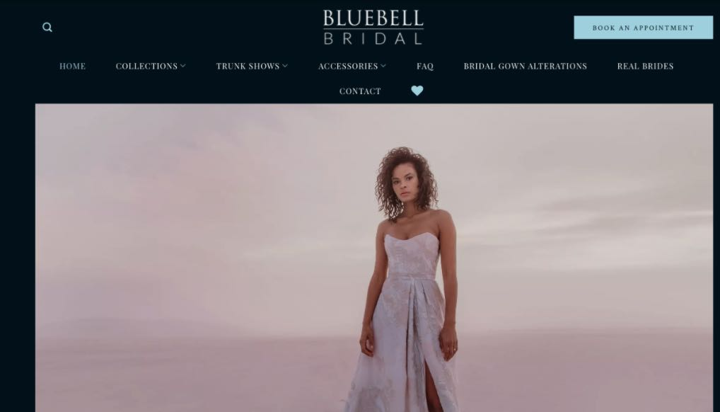 Blue Bell Bridal Wedding Dress Designer Shop Melbourne