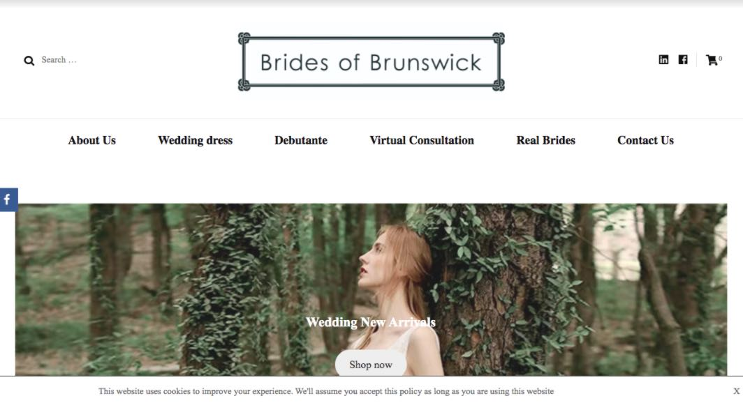 Brides Of Brunswick Wedding Dress Designer Shop Melbourne