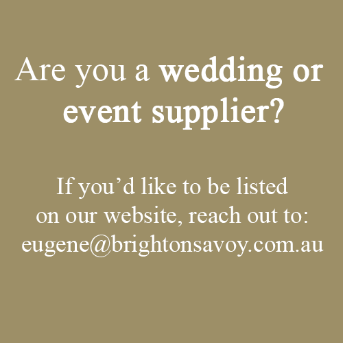 Brighton Savoy Wedding Supplier Listing