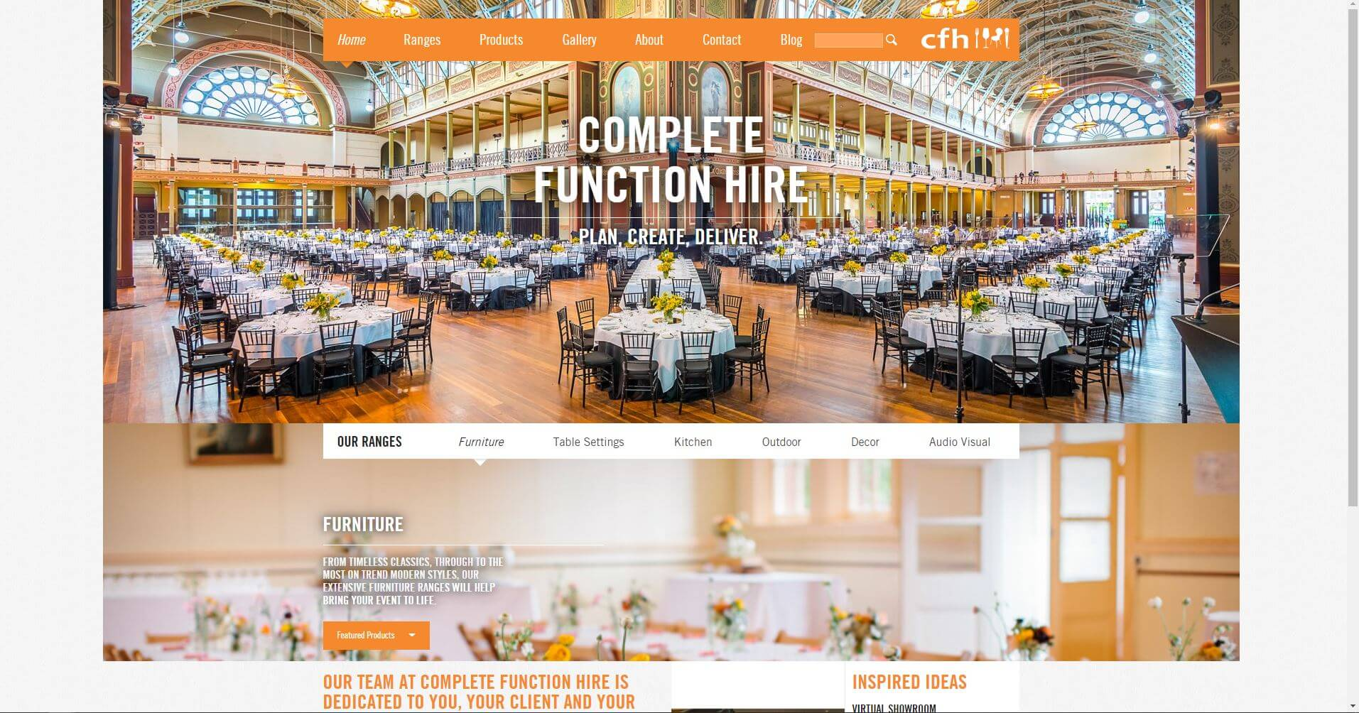 Complete Function Hire Wedding Melbourne