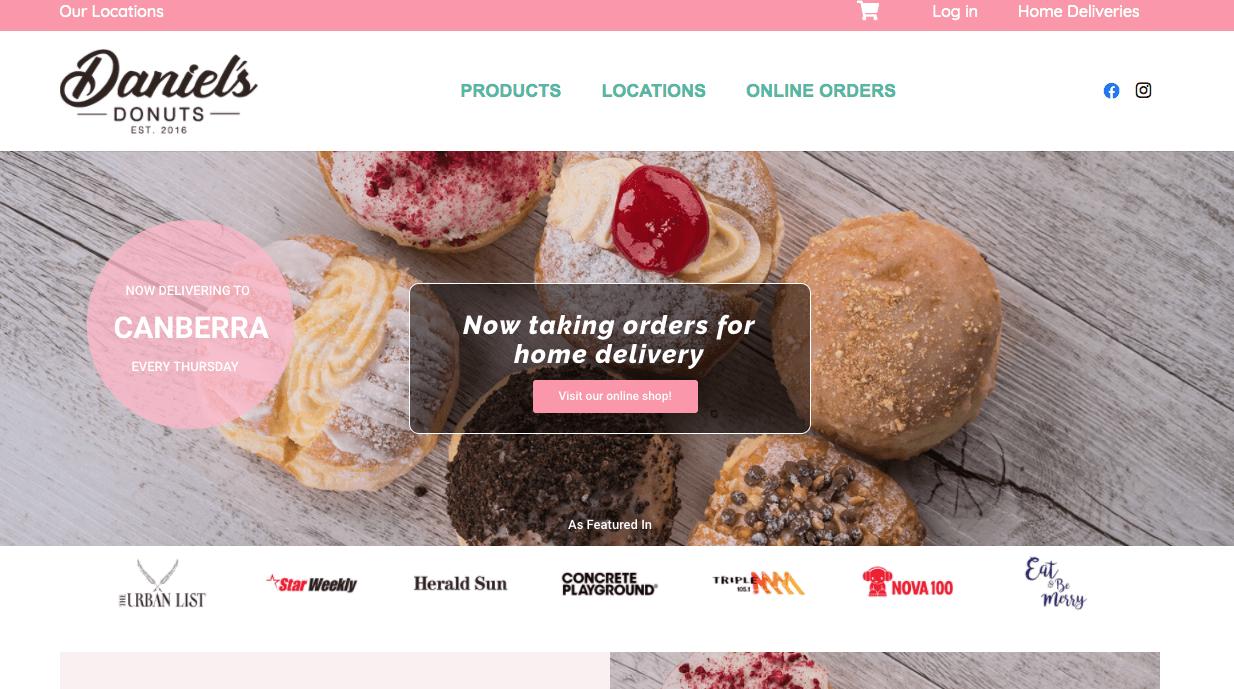 Daniel S Donuts