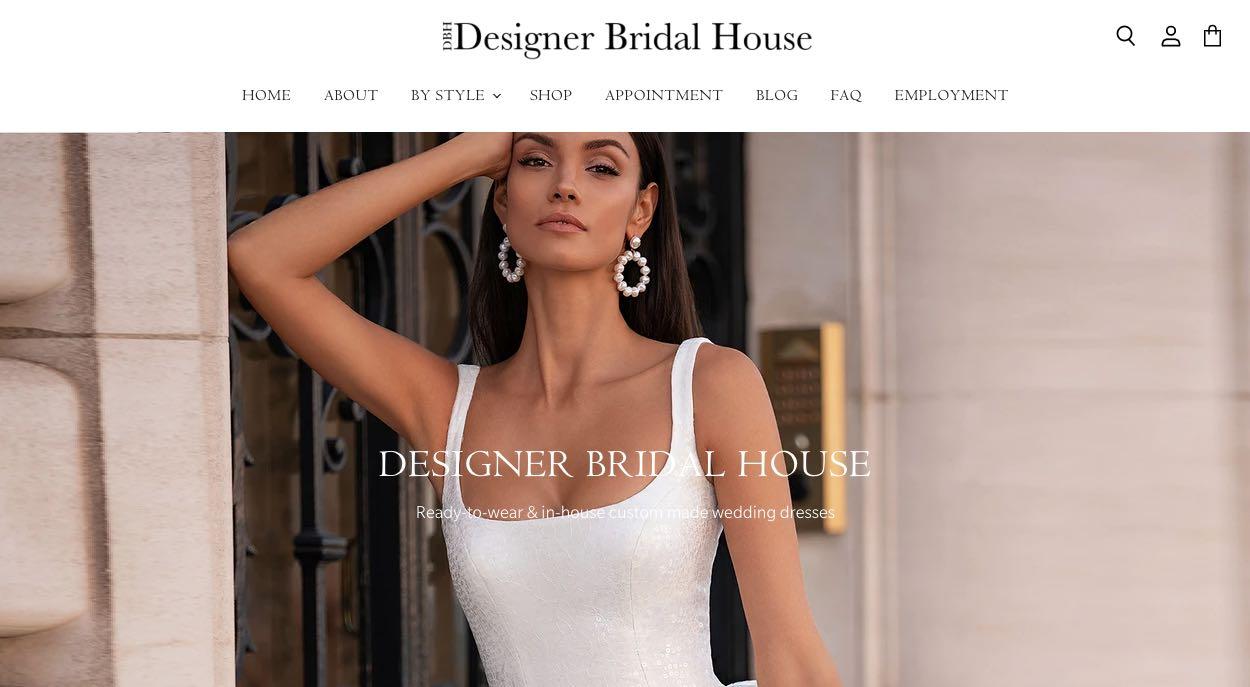 Designer Bridal House Wedding Shoe Shop Melbourne