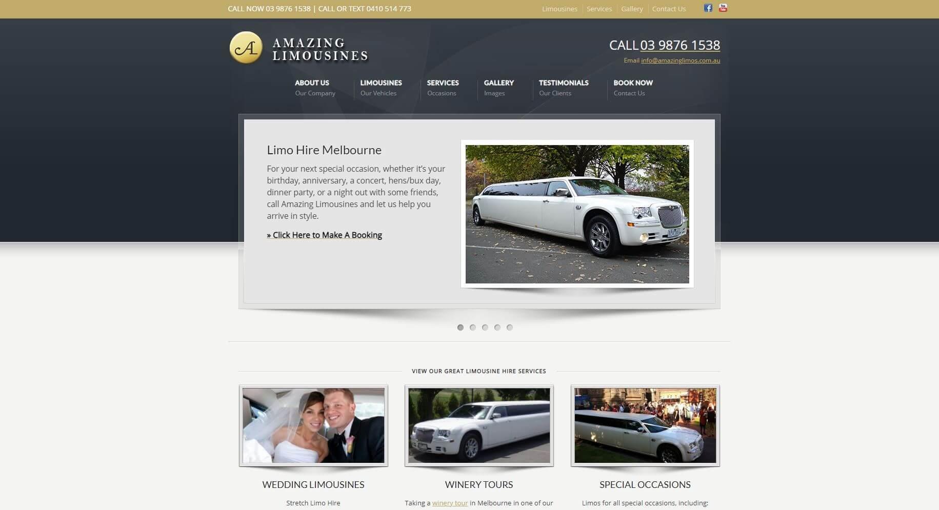 Fantastic Limousines Melbourne Wedding Hire