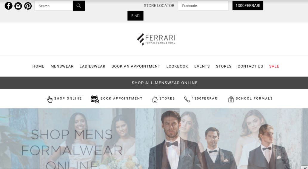 Ferarri Flower Girl Dress Shop Melbourne