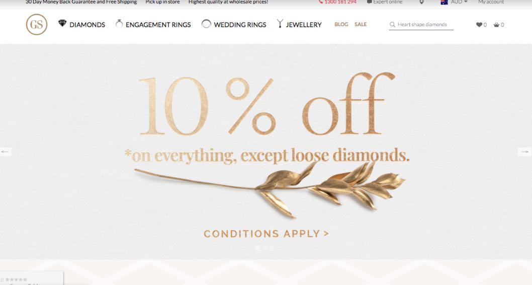 Gs Diamonds Wedding Jewellery Shop Melbourne