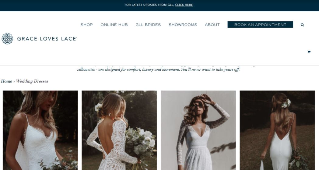 Grace Loves Lace Preloved Wedding Dress Shop Melbourne