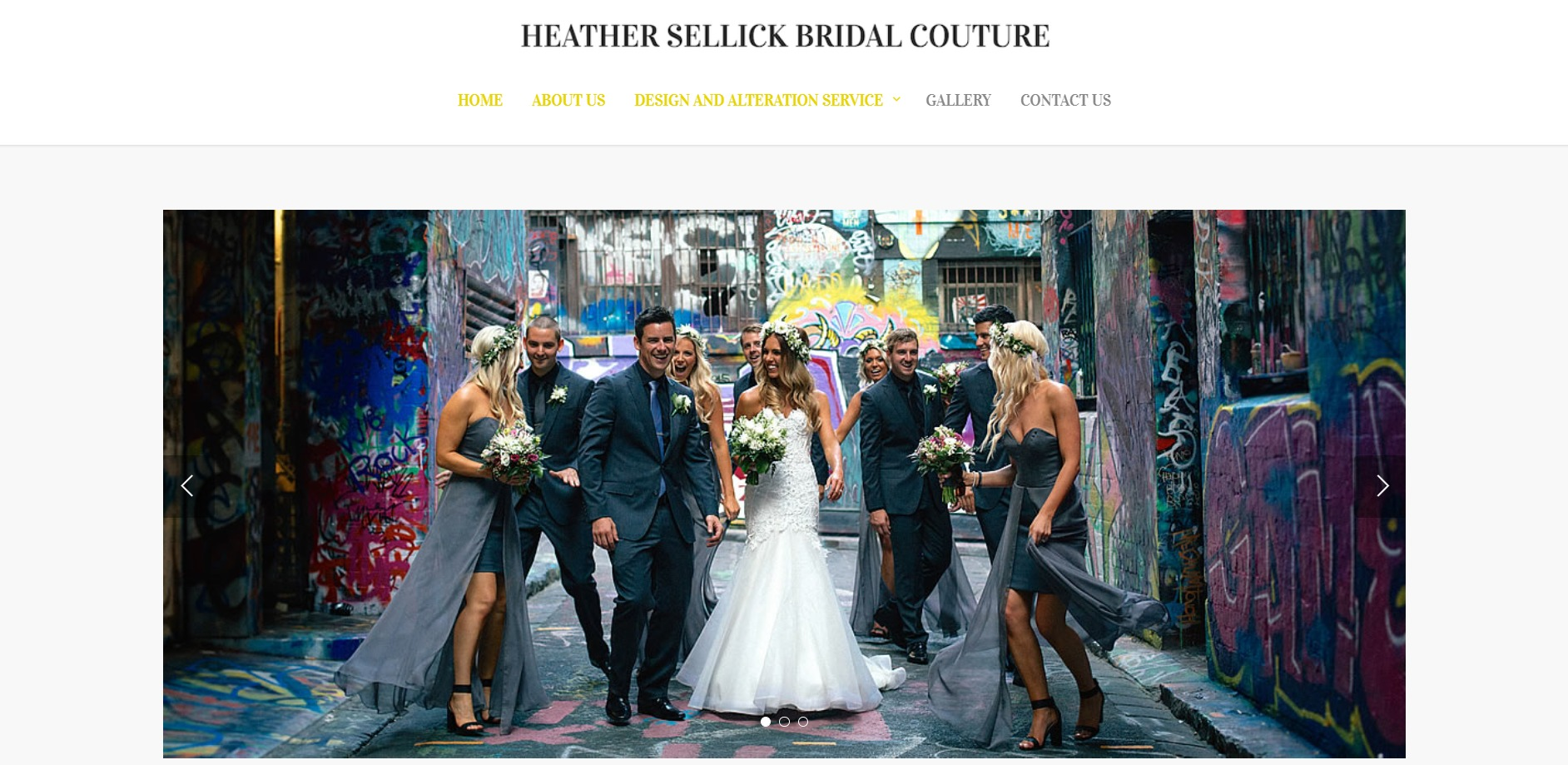 Heather Sellick Bridal