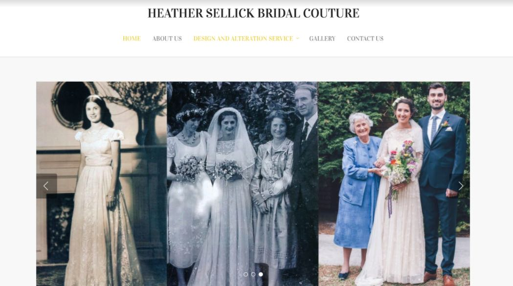 Heather Sellick Wedding Dress Designer Shop Melbourne
