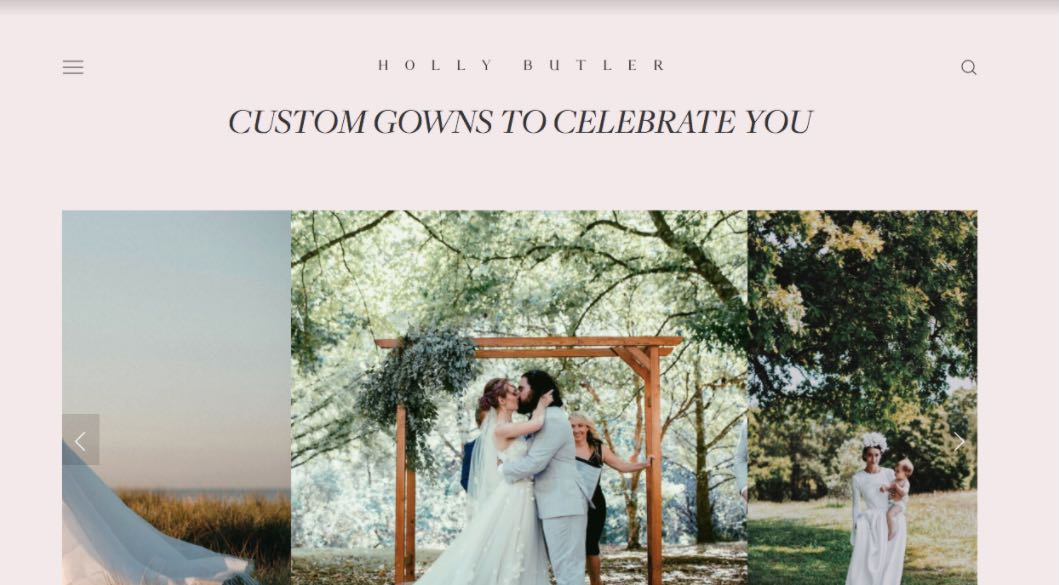 Holly Butter Wedding Dress Designer Shop Melbourne