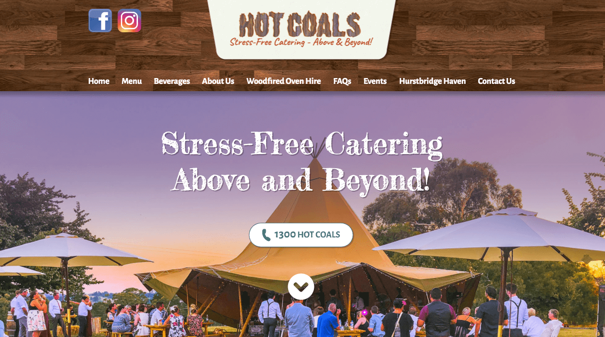 Hot Coals Stress Free Catering