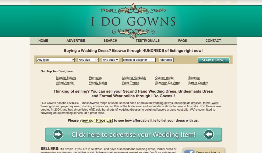 I Do Gowns Preloved Wedding Dress Shop Melbourne