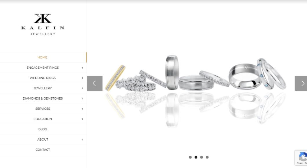 Kalfin Wedding Jewellery Shop Melbourne