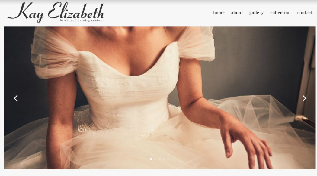 Kay Elizabeth Couture Wedding Dress Designer Shop Melbourne