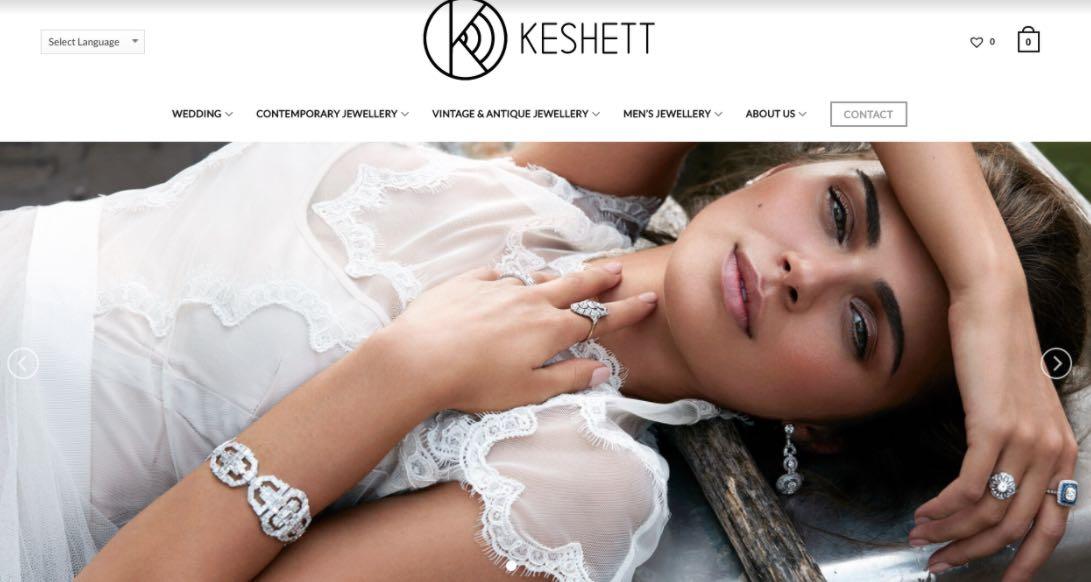 Keshett Wedding Jewellery Shop Melbourne