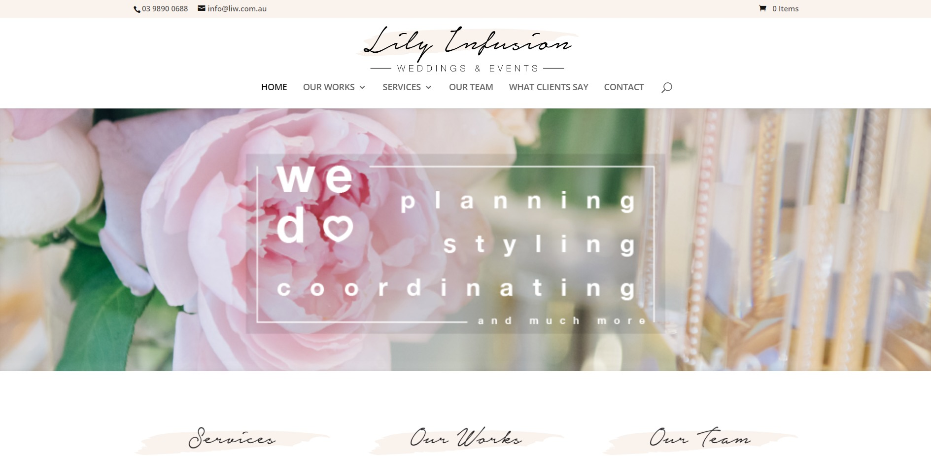 Lily Infusion Weddings & Events